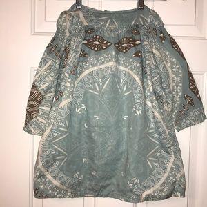 Baby Gap Smocked Peasant Dress